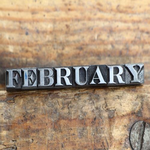 2月の祝日スケジュール